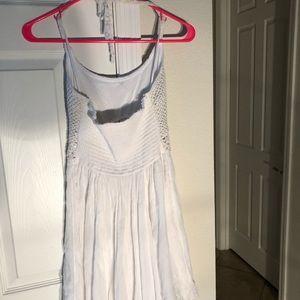 Hollister Dresses - White Hollister Halter dress size S